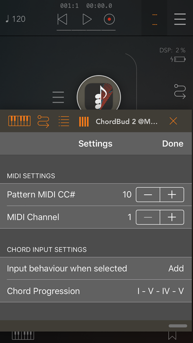 ChordBud 2 AUv3 MIDI Sequencerのおすすめ画像3
