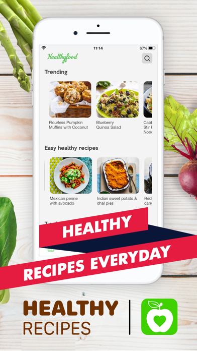 Healthy Recipes - Tasty Food Screenshot