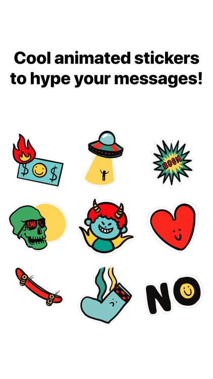 Cool Animated Stickers screenshot-4