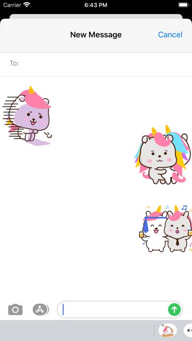 Animated Chubby Unicorn screenshot 1