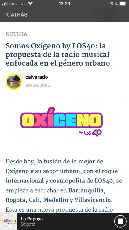 Oxígeno FM Radio screenshot-0