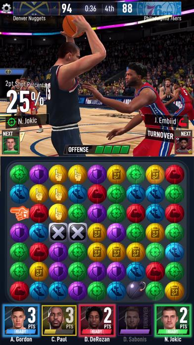 Screen Shot NBA Ball Stars 5