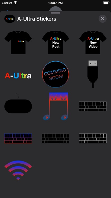 A-Ultra Stickers