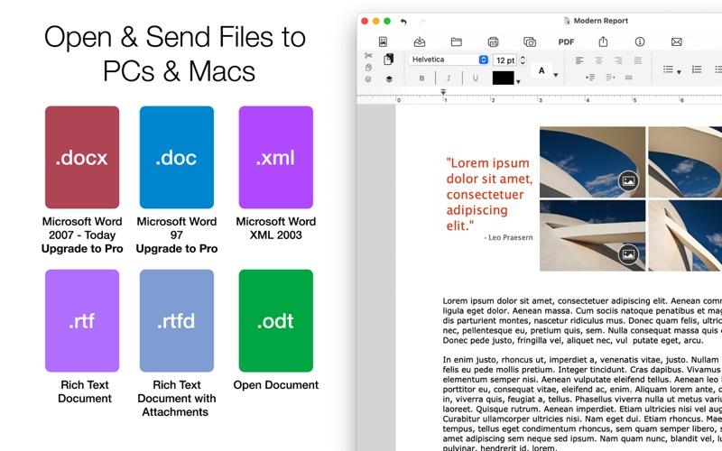 Word Document Writer Screenshot