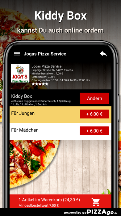 Jogas Pizza Service Taucha screenshot 5