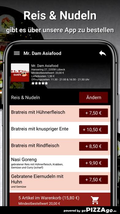 Mr. Dam Asiafood Lübeck screenshot 6