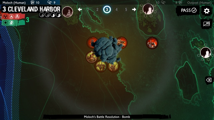 Neuroshima Convoy card game screenshot-5