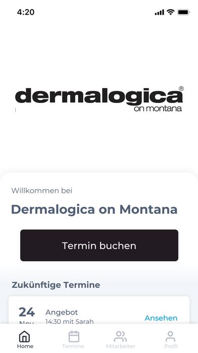 Dermalogica on MontanaScreenshot von 1