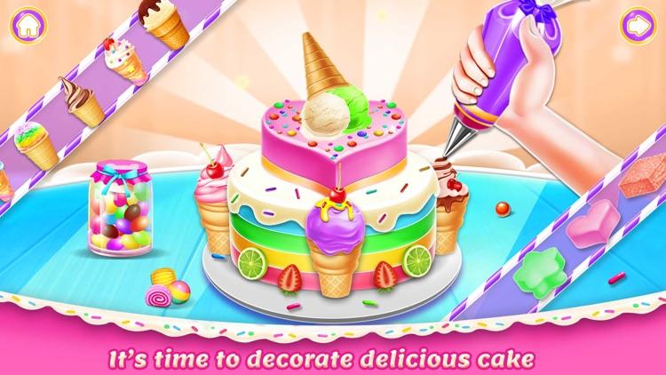 Ice Cream Cake Maker chef screenshot-3