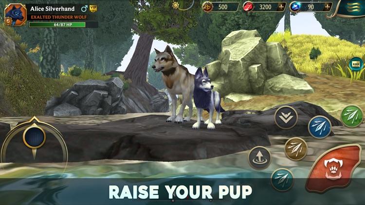 Wolf Tales - Online RPG Sim screenshot-0