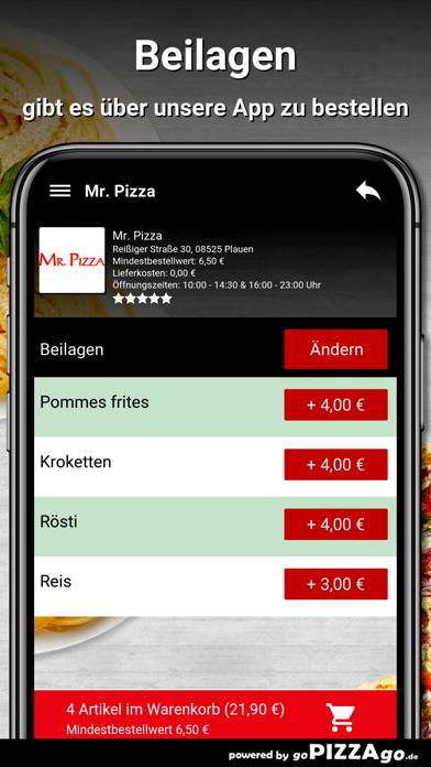 Mr. Pizza Plauen screenshot 6
