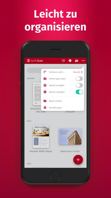 SwiftScan - DokumentenscannerScreenshot von 6