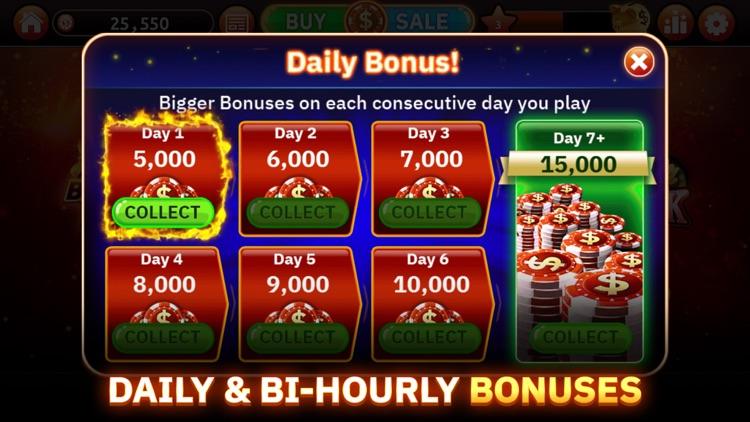 Blazing Bets Blackjack 21 screenshot-5