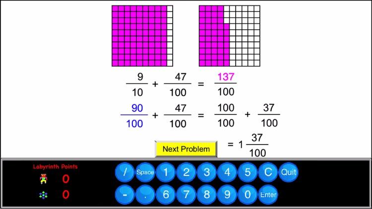 4th Grade Math - Math Galaxy screenshot-6