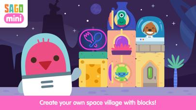 Sago Mini Space Blocks Builder screenshot 1