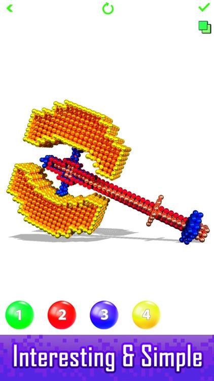 Magnet World - Build by Number screenshot-4