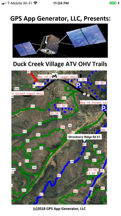 Duck Creek Village ATV Trails Screenshot
