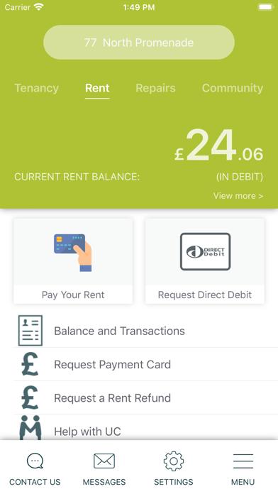 MyAccount+ screenshot two