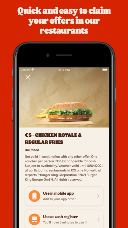 BURGER KING® App screenshot-3