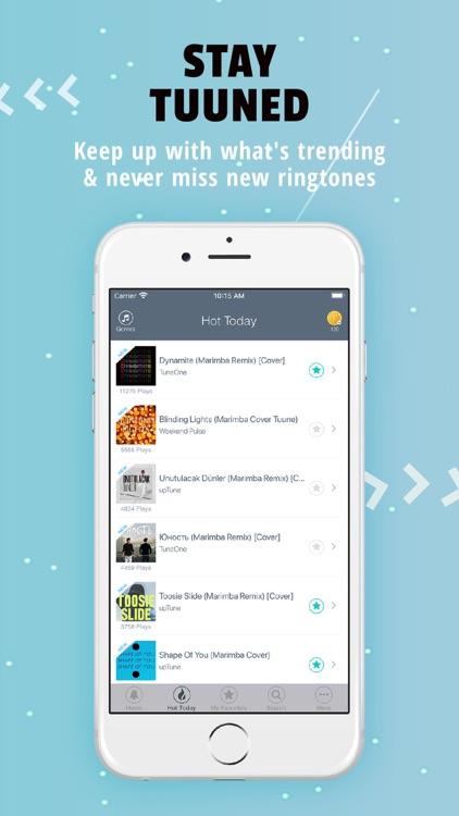 Tuunes Ringtones for iPhone screenshot-5