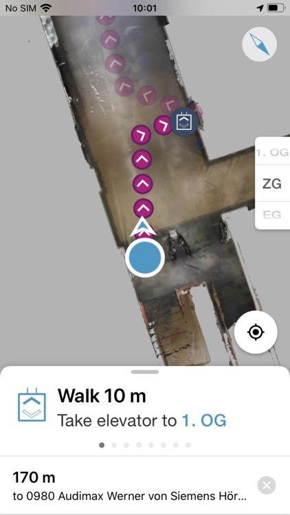 Campus Maps Indoor Navigation screenshot-3