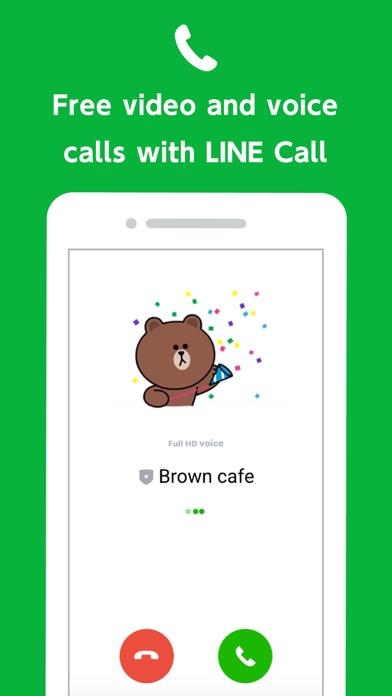 LINE Official Account Screenshot