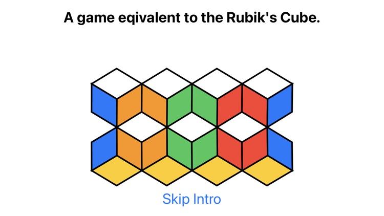 Lateral Cube-Like Rubik's Cube screenshot-8