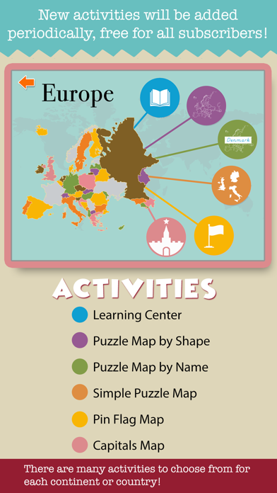 Montessori Geography School Ed screenshot 3