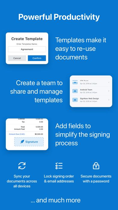 SignNow: Sign & Fill PDF Docs Screenshot