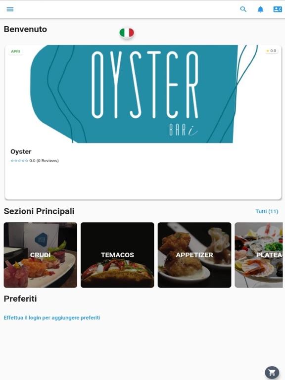 Oyster Bari screenshot 4