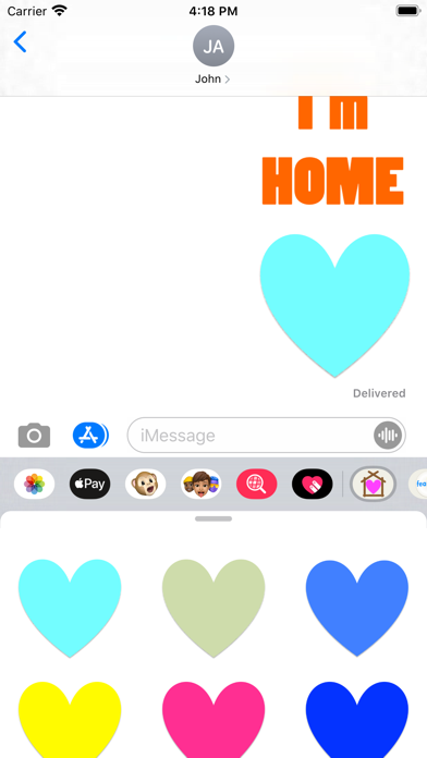 Home Stickers! screenshot 2