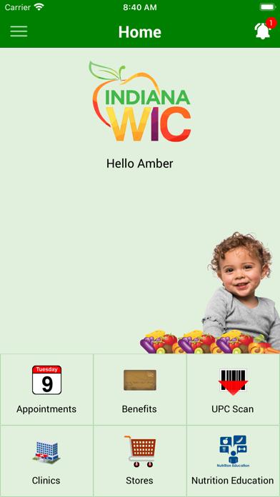 Indiana WICScreenshot of 2