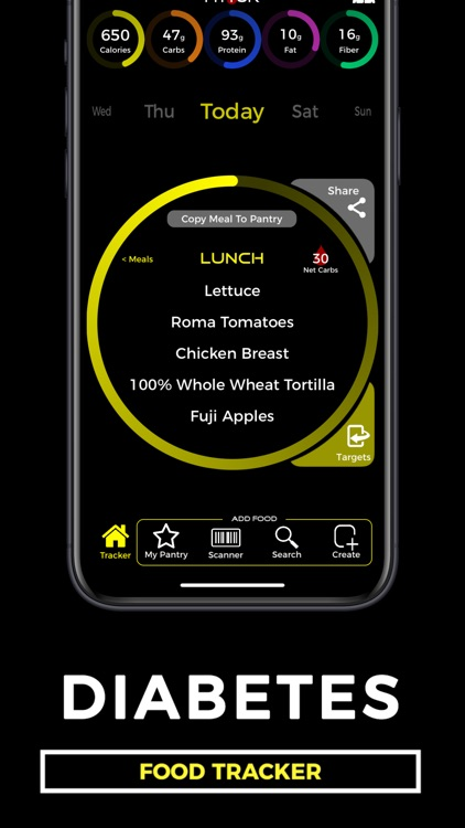 Diabetes Food Tracker - Fittur screenshot-0
