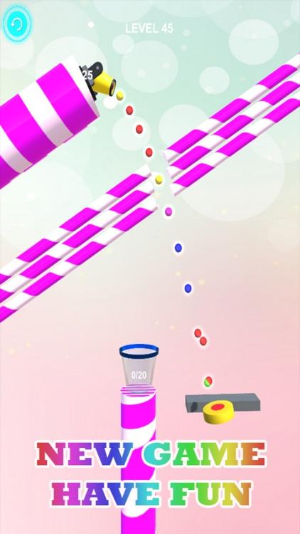 Color Ball Shoot Bounce Full