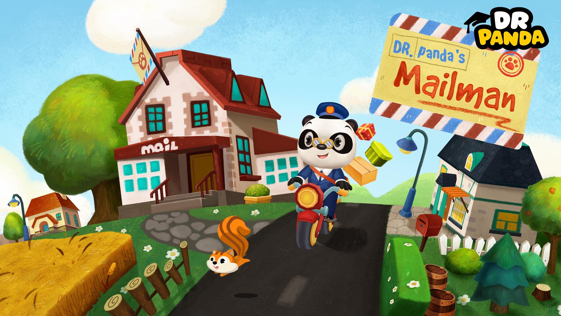 Screenshot do app Dr. Panda Carteiro