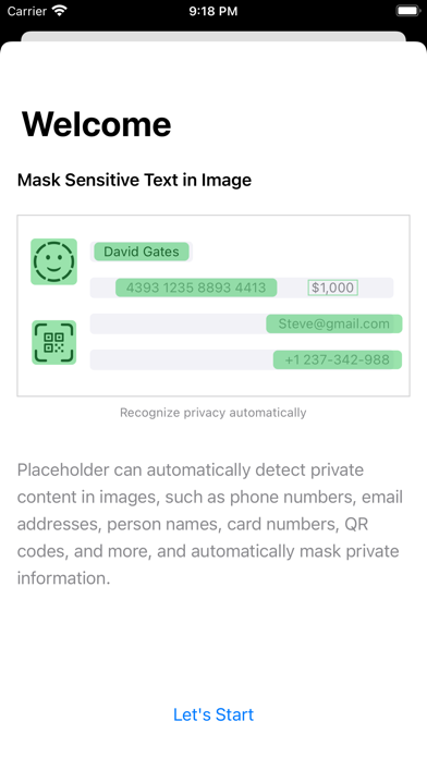 Screen Shot Placeholder - Image Privacy 0