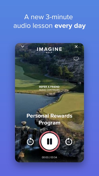 Imagine Golf Screenshot