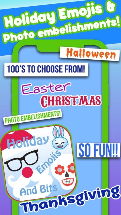 All Holiday Emoji Stickers screenshot-4