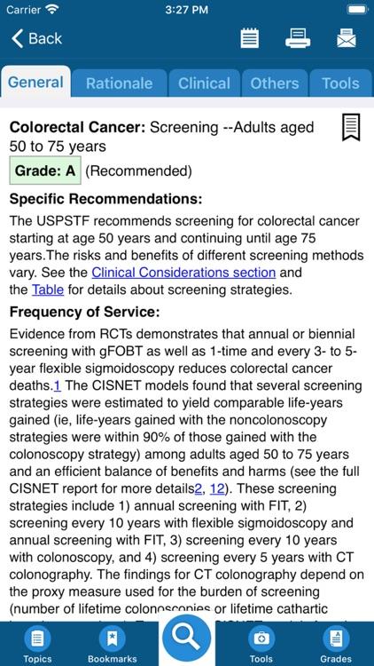 USPSTF Prevention TaskForce screenshot-3