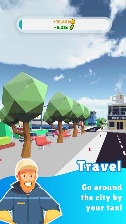 Taxi Inc. - Idle City Builder screenshot-4
