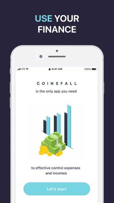 Coins Fall - Private Tracker Screenshot