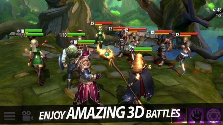 Heroes Forge: Battlegrounds screenshot-5