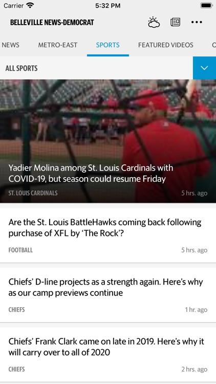 Belleville News Democrat News screenshot-3