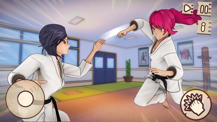Anime High School Girl Life 3D screenshot-4