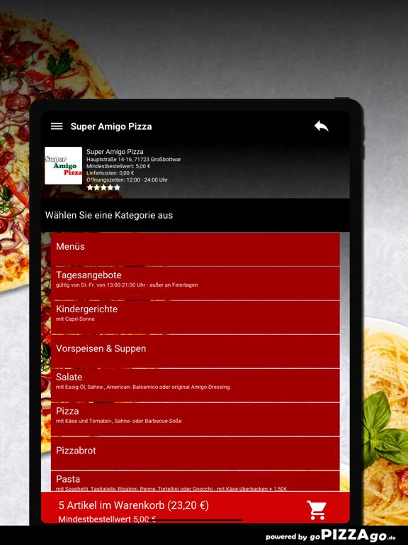 Super Amigo Pizza Großbottwar screenshot 7