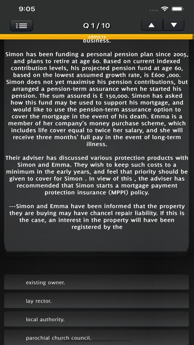 CeMAP 3 Mortgage Advice Exam screenshot 4