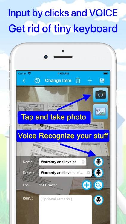 Where's my stuff - Keep & Find screenshot-4