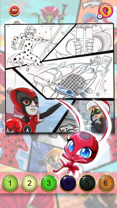 Miraculous Ladybug Сoloring for windows pc