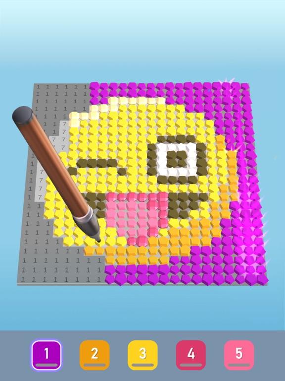 Diamond Painting ASMR Coloring iPad app afbeelding 1
