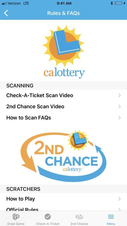 CA Lottery Official App screenshot-8